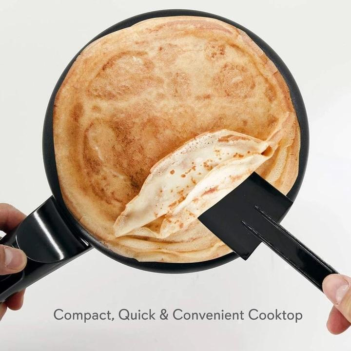 Bestsellrz® Omelette Pancake Dosa Crepe Maker Pan Electric Machine - Quicrepe™ Crepe Makers Black / EU Quicrepe™