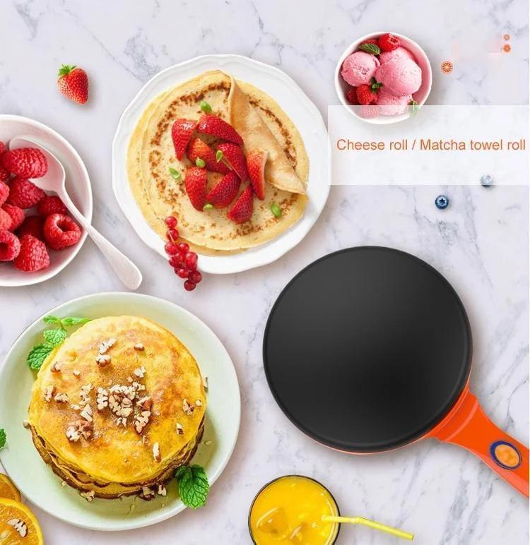 Bestsellrz® Omelette Pancake Dosa Crepe Maker Pan Electric Machine - Quicrepe™ Crepe Makers Red / UK Quicrepe™