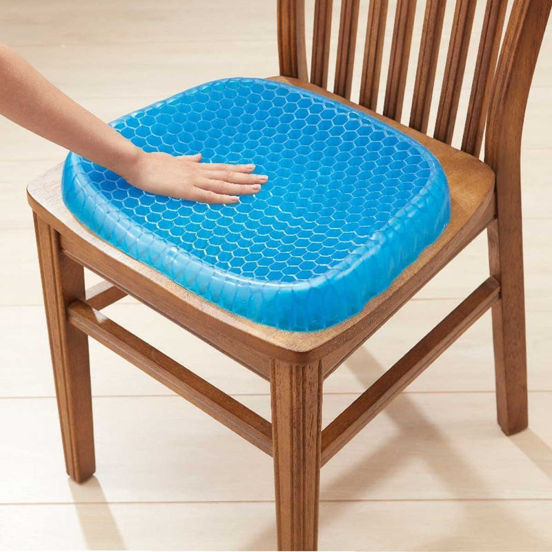 Bestsellrz® Orthopedic Gel Seat Cushion Chair Lumbar Support - Aeriosit™ Cushion Aeriosit™