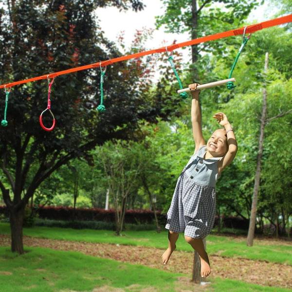 Bestsellrz® Outdoor Fitness Equipment Slackline Kit