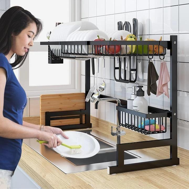 Bestsellrz® Over the Sink Kitchen Storage Racks Stainless Steel Shelves- Primrack™ Kitchen Shelf Primrack™