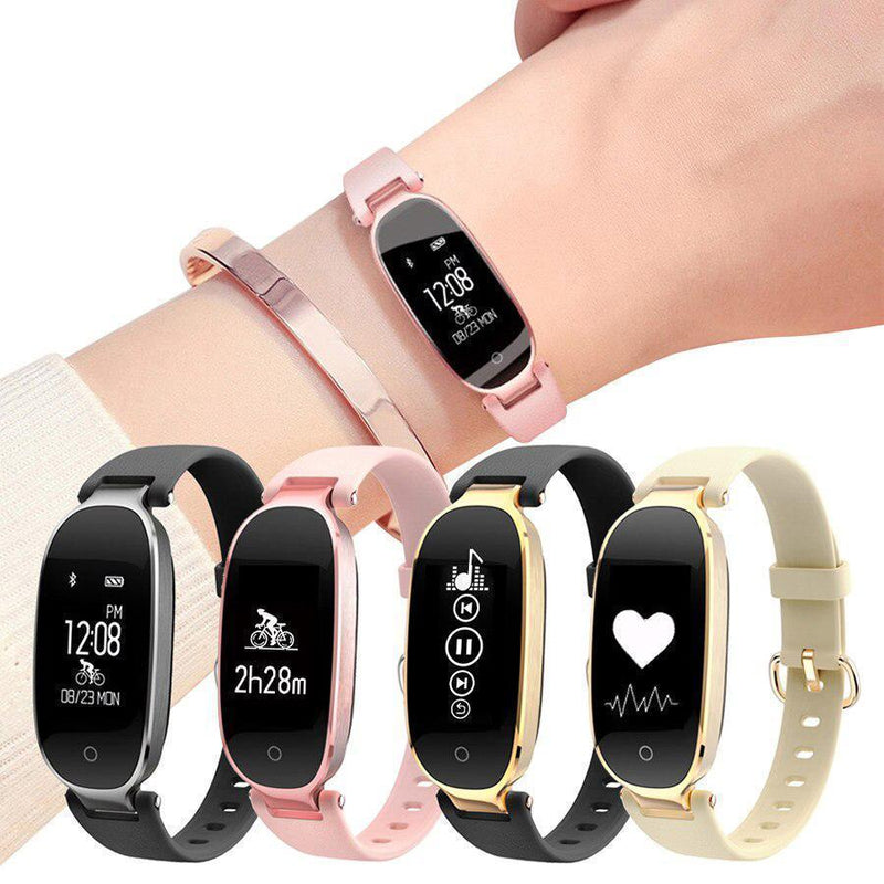 Bestsellrz® Pedometer Smartwatch for Girls Fitness Watches for Women - Athena™ Smartwatch for Women Athena™