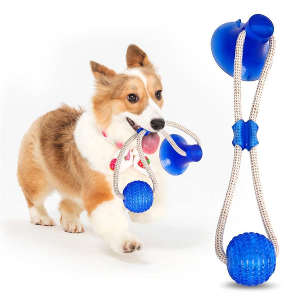 Bestsellrz® Pet Chew Toys for Dog Cat Indestructible Rope Toy - Chewio™ Dog Toys Ocean Blue Chewio™