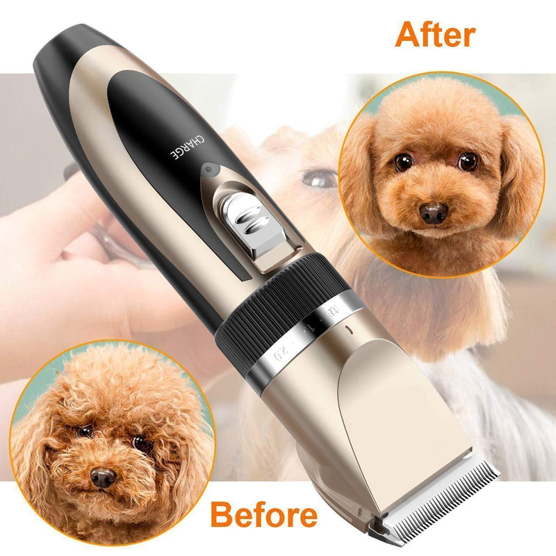 Bestsellrz® Pet Grooming Hair Trimmer Dog Cat Clippers Machine - Furrexo™ Dog Hair Trimmers With Spare Blade Furrexo™