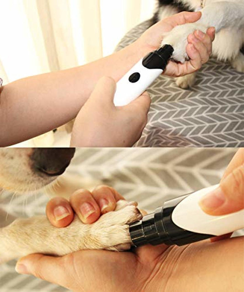 Bestsellrz® Pet Nail Trimmer Dog ToeNails Grinder Automatic Electric Cat Grooming - Broof™ Pet Nails Grinder Broof™