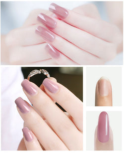 Bestsellrz® Polygel Nail Kit Fake Nails False Artificial Extension - ExoNail™ Nail Gel Soft Pink ExoNail™