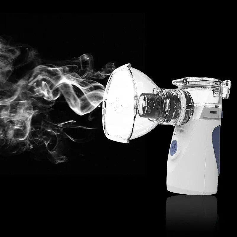Bestsellrz® Portable Nebulizer Inhalor for Baby Kids Adults Steam Water Nebulizer - Respirixo™ Nebulizer Respirixo™