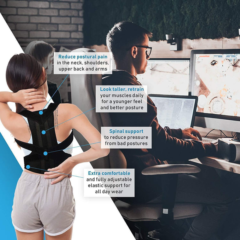 Bestsellrz® Posture Corrector Brace Back Support Belt Posture Trainer Men Women Braces & Supports Posture Corrector Pro™