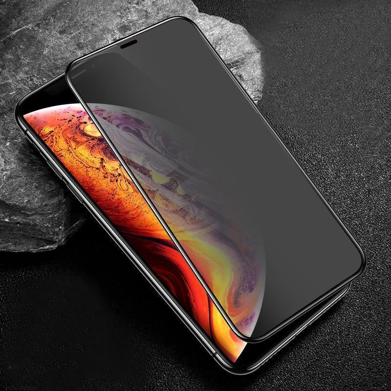 Bestsellrz® Privacy Screen Protector iPhone Tempered Glass Anti Spy Phone X 7 Plus iPhone Safety Glass Protector iPhone XS Privsy™