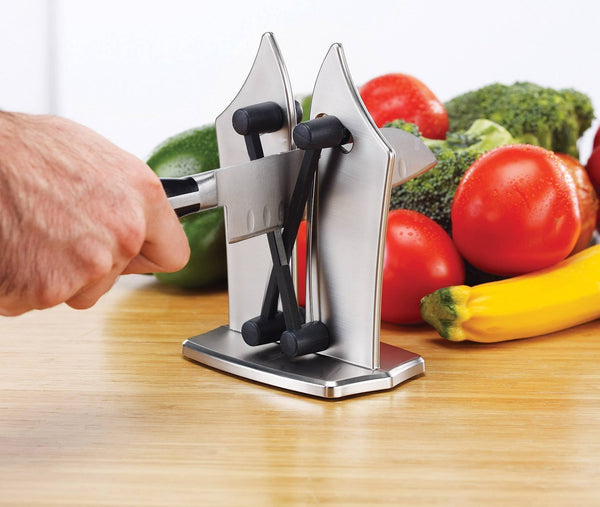 Bestsellrz® Professional Stainless Steel Kitchen Knife Sharpener - Shapezel™ Sharpeners Shapezel™
