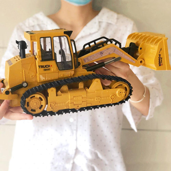 Bestsellrz® RC Construction Vehicles Bulldozer Dump Truck Excavator Toys RC Cars Bulldozer Construction Vehicle Toys