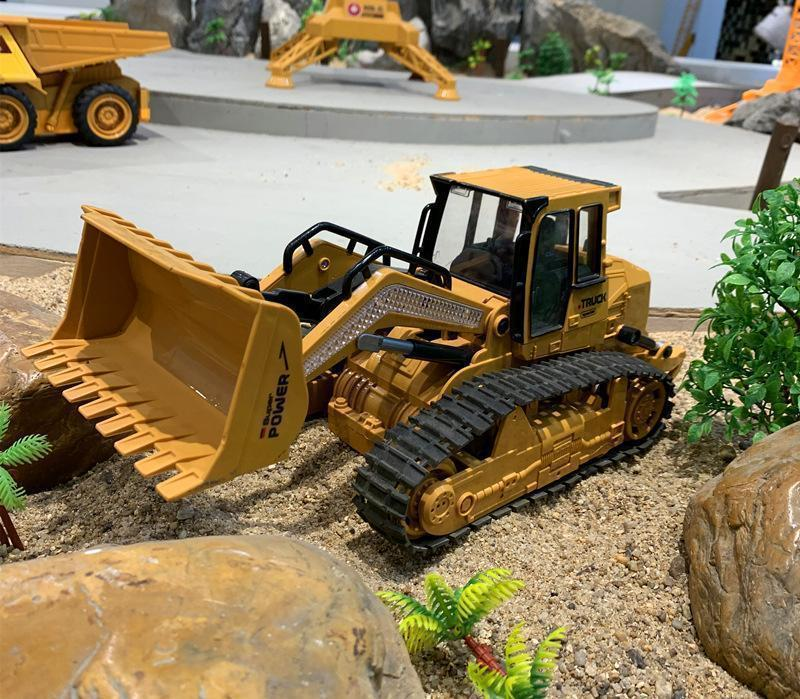 Bestsellrz® RC Construction Vehicles Bulldozer Dump Truck Excavator Toys RC Cars Construction Vehicle Toys