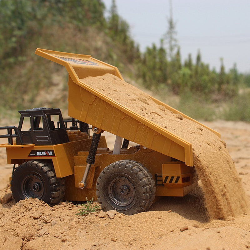 Bestsellrz® RC Construction Vehicles Bulldozer Dump Truck Excavator Toys RC Cars Dump Truck Construction Vehicle Toys