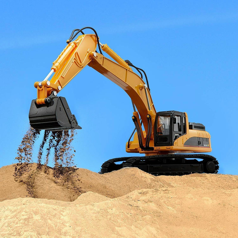 Bestsellrz® RC Construction Vehicles Bulldozer Dump Truck Excavator Toys RC Cars Excavator Construction Vehicle Toys