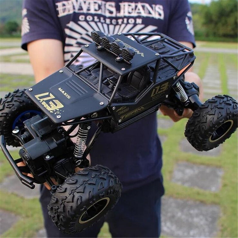 Bestsellrz® Remote Control Race Car RC Rock Crawler Electric Truck - Turboxo™ Remote Control Monster Trucks Black - 27 cm Turboxo™