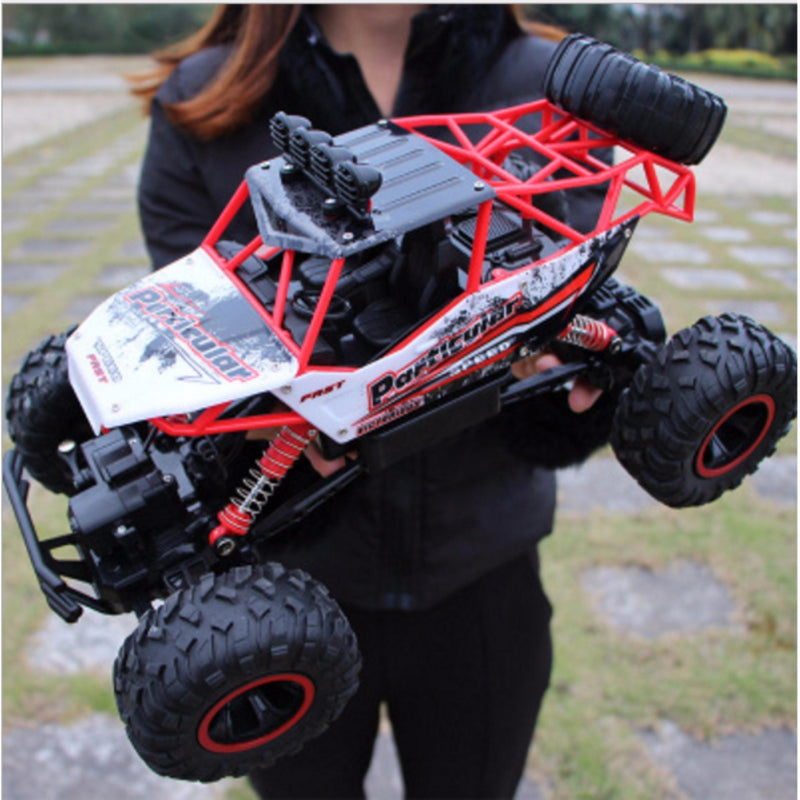 Bestsellrz® Remote Control Race Car RC Rock Crawler Electric Truck - Turboxo™ Remote Control Monster Trucks Red - 37 cm Turboxo™
