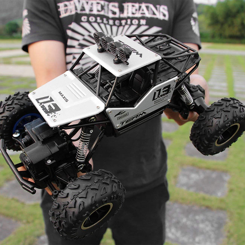 Bestsellrz® Remote Control Race Car RC Rock Crawler Electric Truck - Turboxo™ Remote Control Monster Trucks White - 27 cm Turboxo™