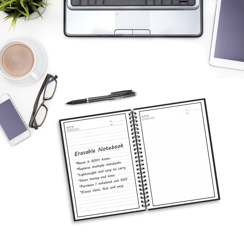 Bestsellrz® Reusable Erasable Notebook Smart Everlast Best Digital Notebooks Digital Tablets Writezy™