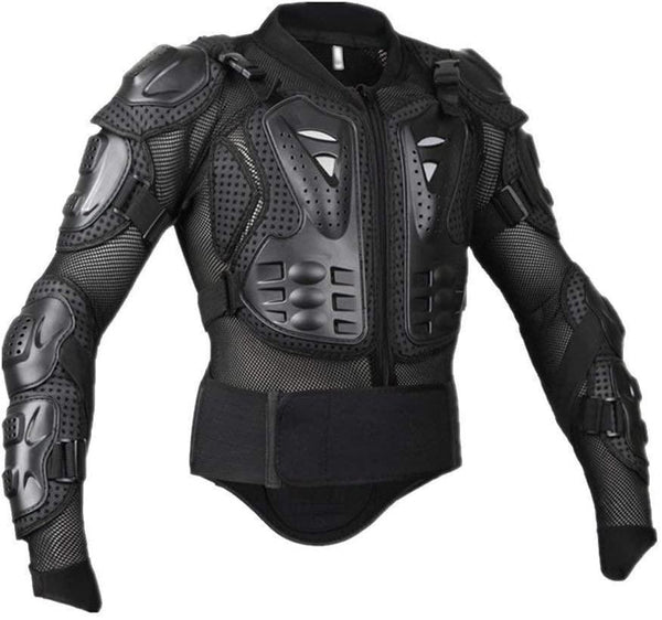 Bestsellrz® Riding Biker Armor Jacket Motorcycle Body Protector for Safety - MotoArma™ Armour Black / XL MotoArma™