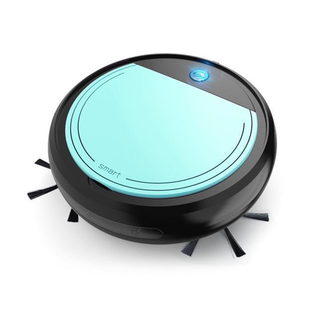 Bestsellrz® Robot Vacuum Floor Cleaner Automatic Cordless Sweeper Mop - Intelli Kleen™ Vacuum Cleaners Black Green Intelli-Kleen™