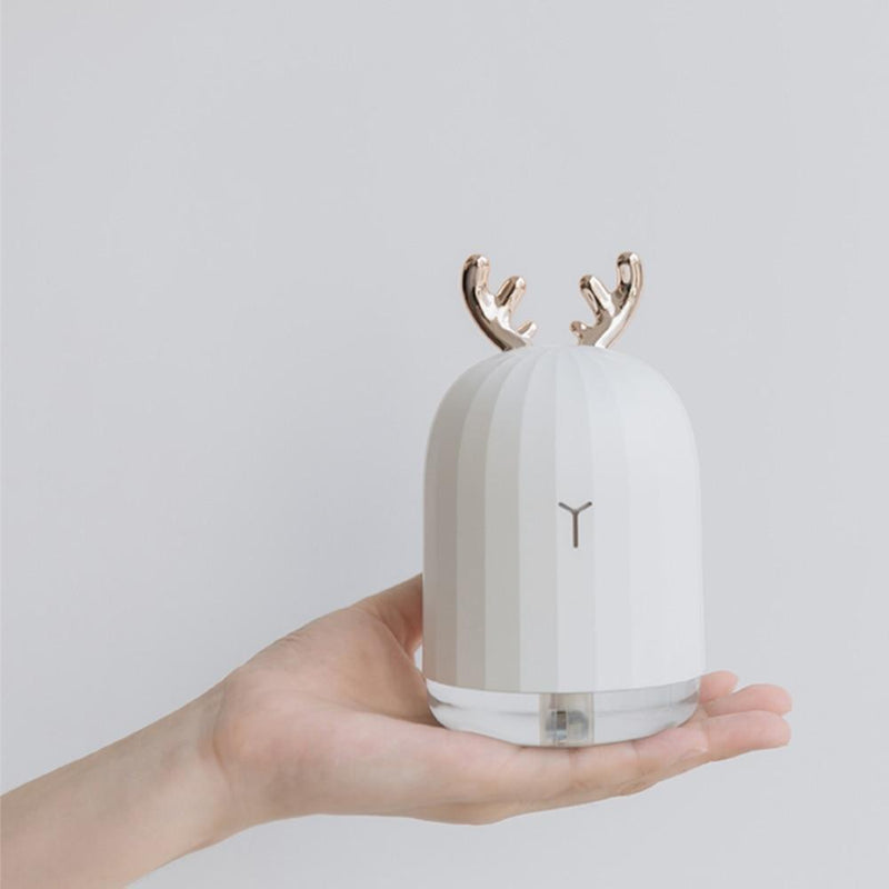 Bestsellrz® Small Room Humidifier Diffuser Cool Mist Mini USB Humidifier - Aromarkle™ Humidifiers White Reindeer Aromarkle™