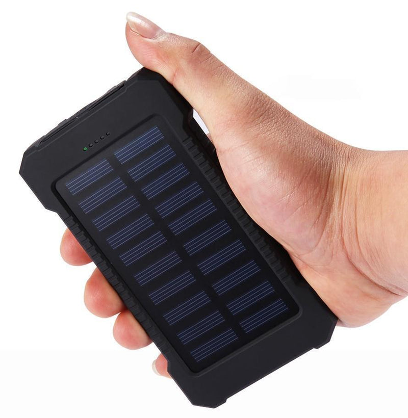 Bestsellrz® Solar Battery Charger Portable Sun Power Bank Waterproof - Chargix™ Power Bank Chargix™