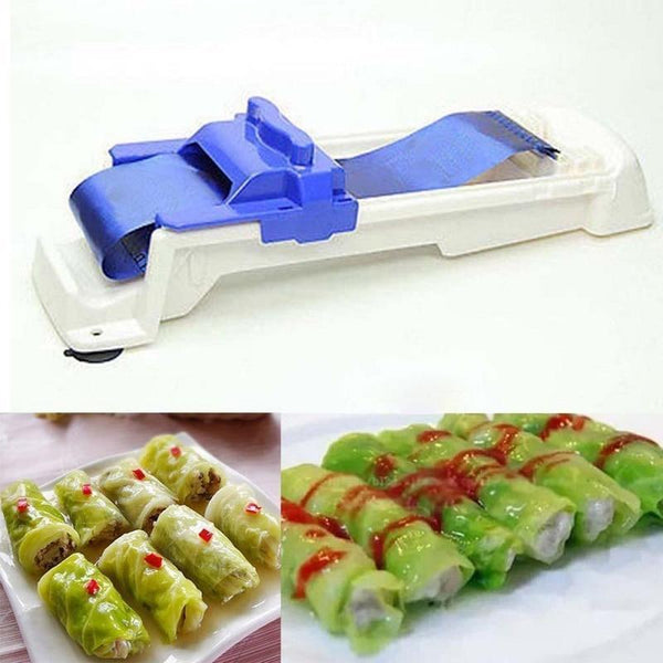 Bestsellrz® Stuffed Cabbage and Grape leaf Vegetable Roller Meat Rolling Tool Sushi Tools Asaproll™