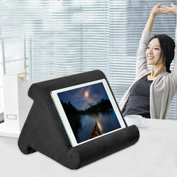 Bestsellrz® Tablet Stand Ipad Pillow Holder for Bed Sofa - Swivio™ Tablet Pillow Black Swivio™