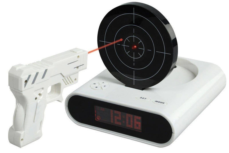 Bestsellrz® Target Alarm Clock for Heavy Sleepers - Pewalarm™ Alarm Clocks Pewalarm™