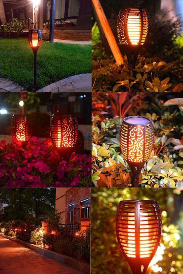 Bestsellrz® Tiki Torches Outdoor Solar Garden Path Lights - Nitorch™ Solar Lamps 1 x Nitorch™ Nitorch™
