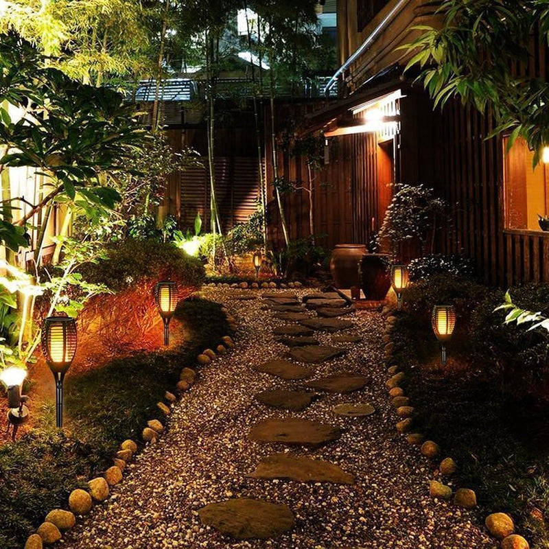 Bestsellrz® Tiki Torches Outdoor Solar Garden Path Lights - Nitorch™ Solar Lamps Nitorch™