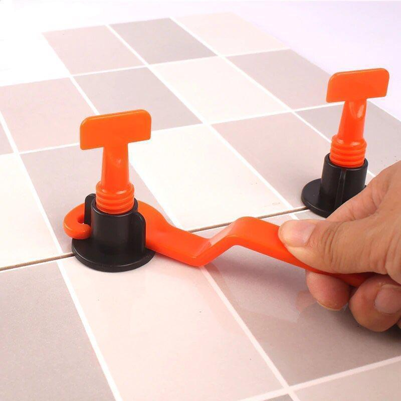 Bestsellrz® Tile Spacers Leveling System Anti Lippage Alignment - Acutile™ Construction Tool Parts Acutile™