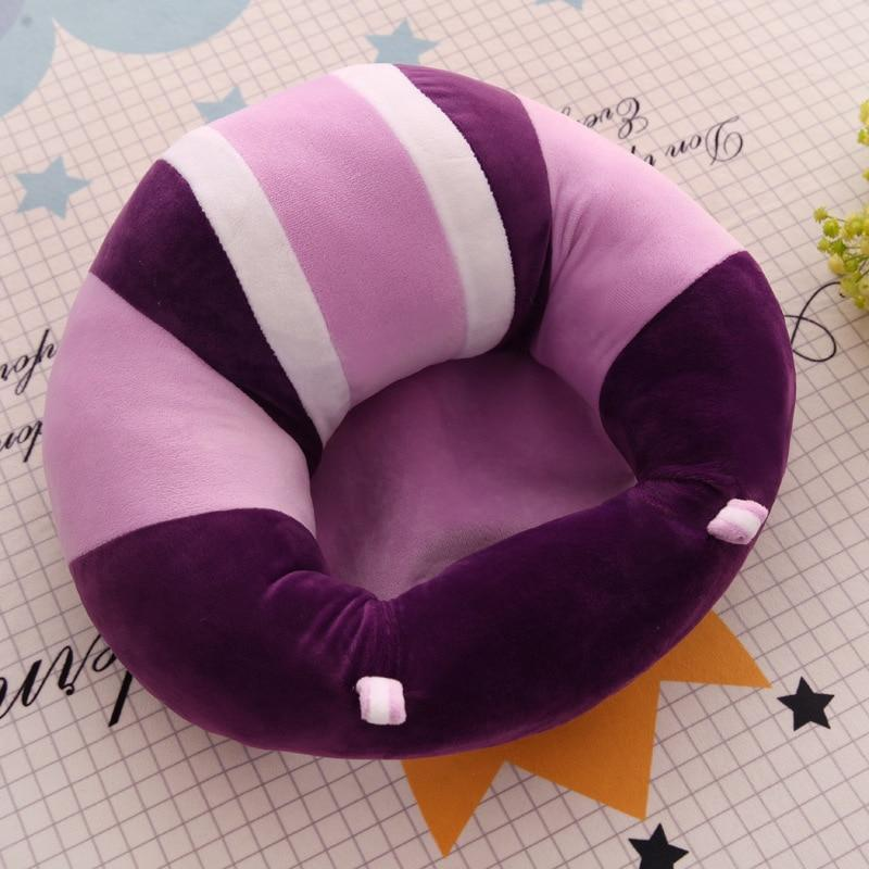 Bestsellrz® Toddler Couch For Seat Training Toys Baby Sofa - SnugNest™ Baby Seats & Sofa Comfy Purple SnugNest™