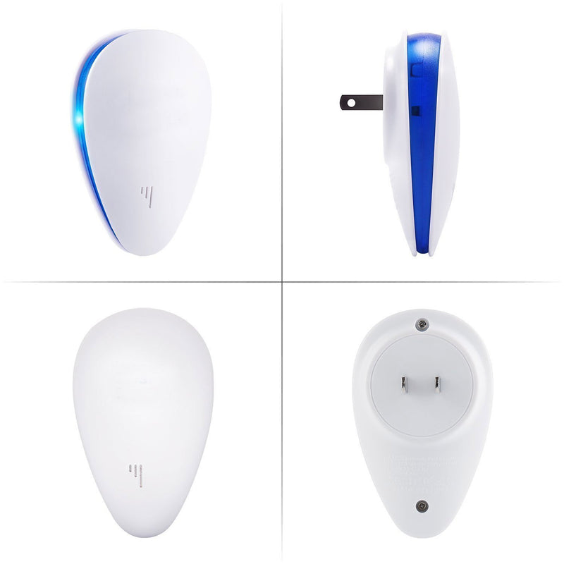 Bestsellrz® Ultrasonic Pest Repeller Electronic Ant Rat Bug Repellent- Repelly™ Repellents UK Plug / White Repelly™