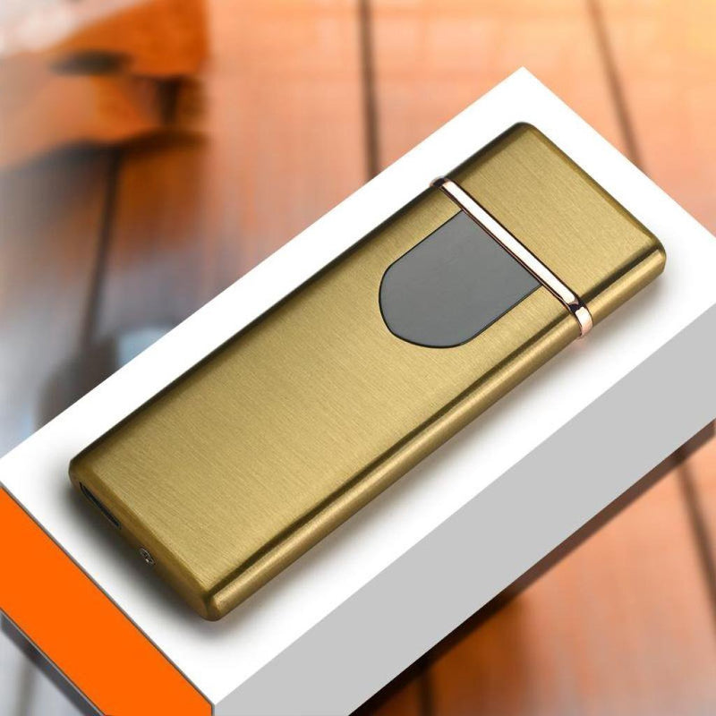 Bestsellrz® USB Rechargeable Electric Cigarette Lighter - Lumotix™ Cigarette Accessories Gold Satin Lumotix™