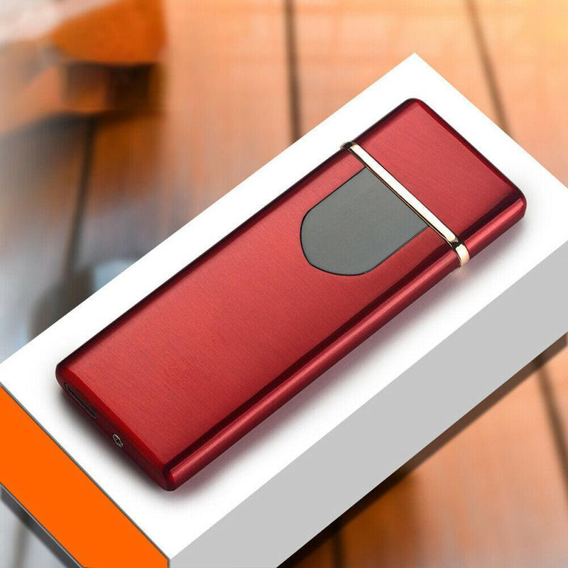 Bestsellrz® USB Rechargeable Electric Cigarette Lighter - Lumotix™ Cigarette Accessories Red Satin Lumotix™