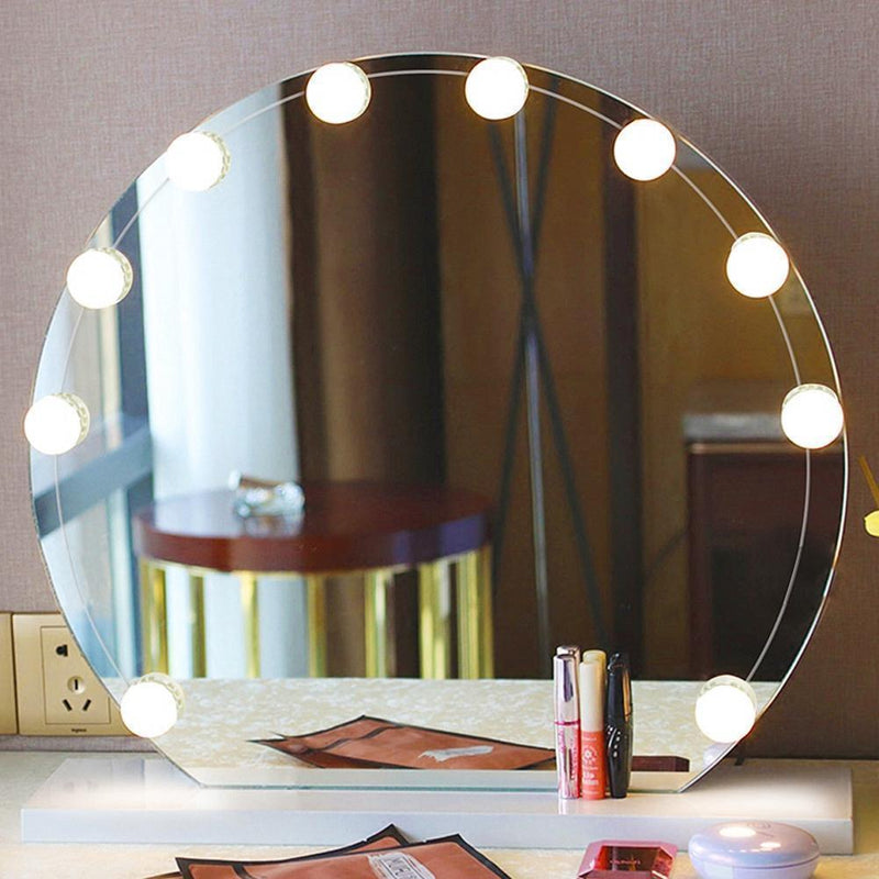 Bestsellrz® Vanity Mirror Lights Makeup Professional Hollywood Led Bulbs - Lumaglam™ LED Indoor Wall Lamps Lumaglam™