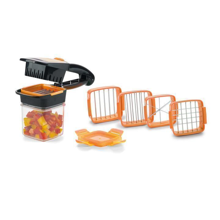 Bestsellrz® Vegetable Fruit Salad Cutter Slicer Dicer Machine - Slicie™ Shredders & Slicers Orange Slicie™