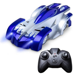 Bestsellrz® Wall Climbing Remote Control Car Zero Gravity Toy - WallPal™ RC Cars Blue WallPal™