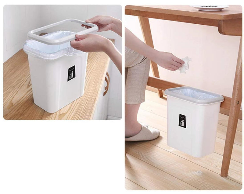 Bestsellrz® Wall Mount Kitchen Dustbin Garbage Can Cabinet - Push-Top Trash Can Waste Bins Push-Top Trash Can