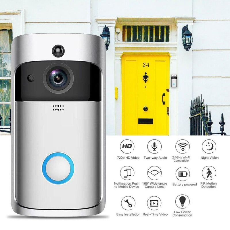 Bestsellrz® Wireless Camera Video Wifi Smart Ring Doorbell - Supabell™ Surveillance Cameras Supabell™