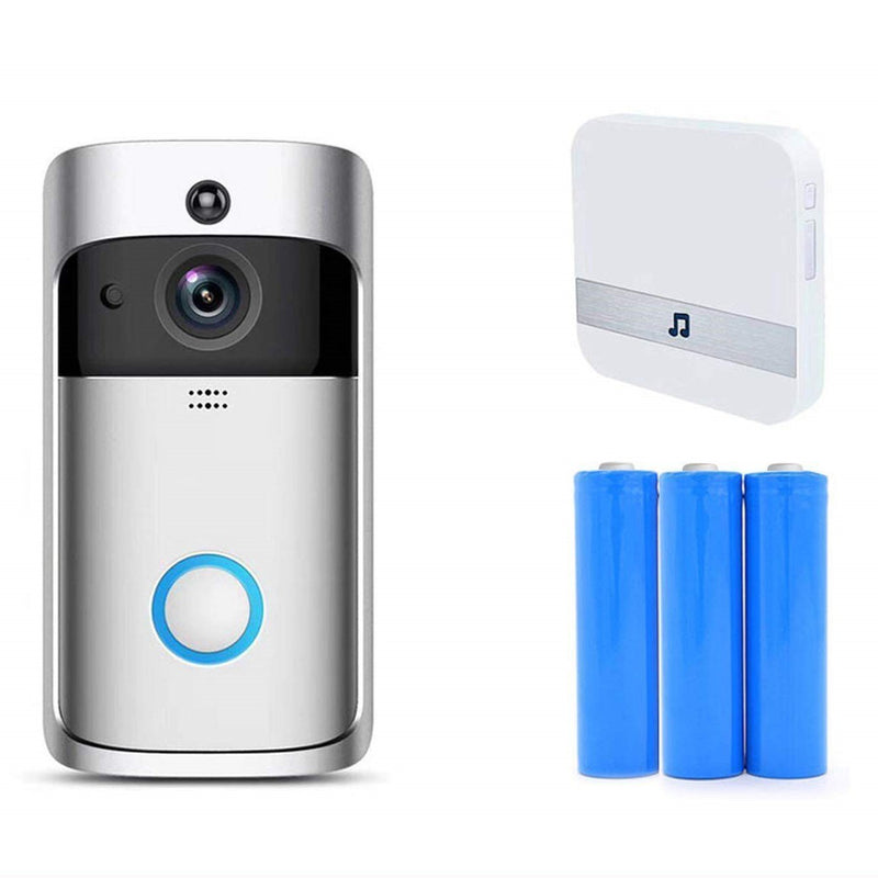 Bestsellrz® Wireless Camera Video Wifi Smart Ring Doorbell - Supabell™ Surveillance Cameras Supabell™ + Batteries + Chime Supabell™