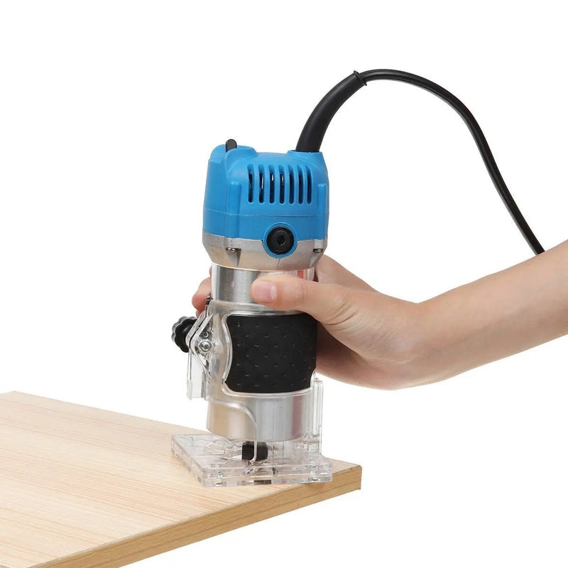 Bestsellrz® Wood Router Woodworking Machine with Bits Palm Tool - Helixios™ Wood Router EU Plug 220V Helixios™