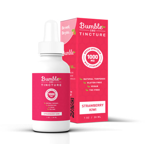 Bumble CBD Strawberry Kiwi 1000MG Tincture