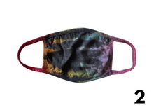 Load image into Gallery viewer, Reverse Rainbow Tie-Dye Masks
