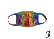 Load image into Gallery viewer, Rainbow Tie-Dye Masks