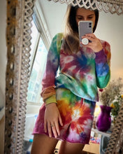 Load image into Gallery viewer, GREY Rainbow Sweatshirt