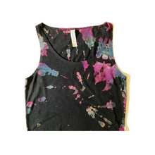 Load image into Gallery viewer, REVERSE Tie-dye Cropped Tank