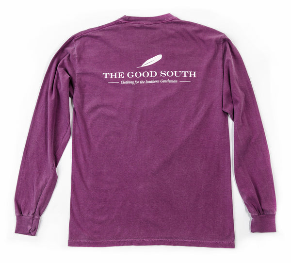 The Good South Long Sleeve T-Shirt: Berry