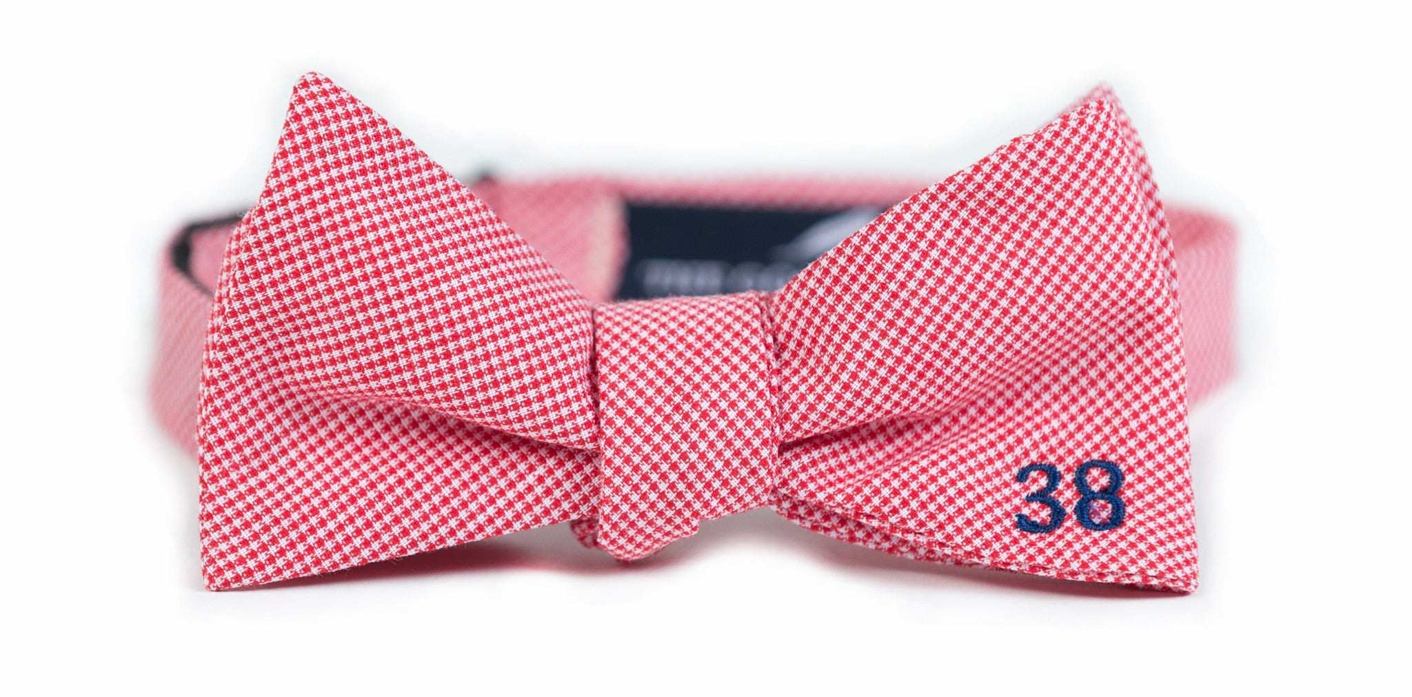 Chucky Mullins Bow Tie: Red